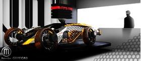 Firanse R3概念车模型
